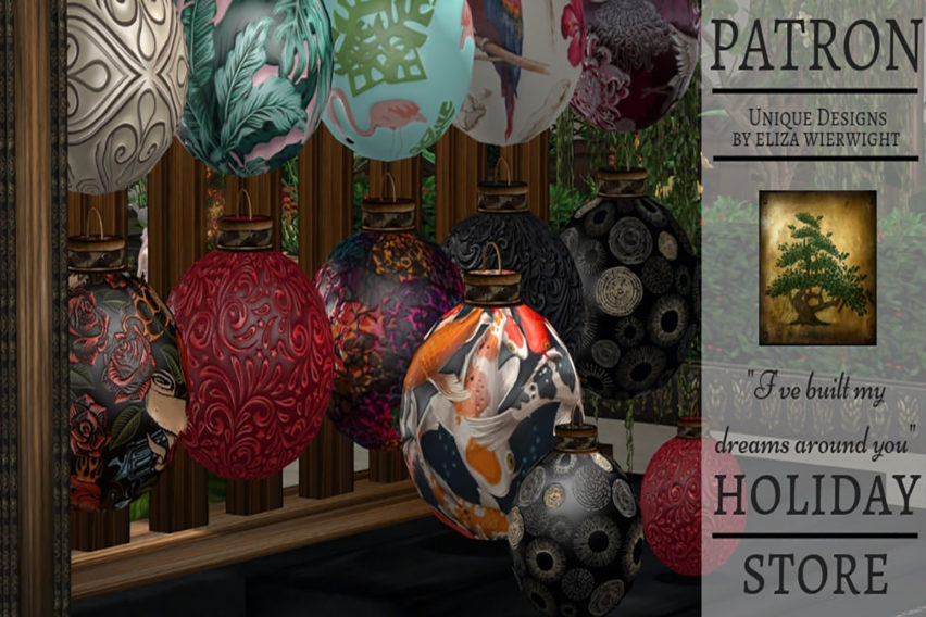 PATRON Holiday Store 2018