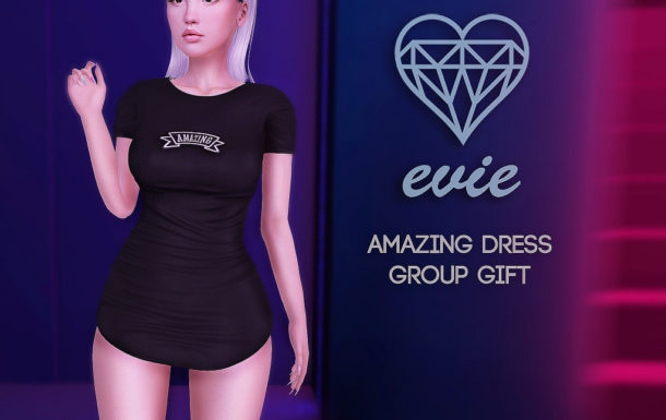 Amazing Dress November 2018 Group Gift by EVIE