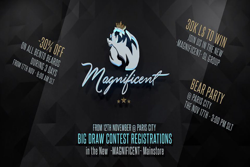 THE NEW MAGNIFICENT NEW GROUP – OPENING NEW MAIN STORE