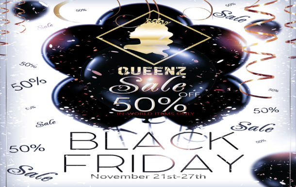 QUEENZ  Black Friday Sale
