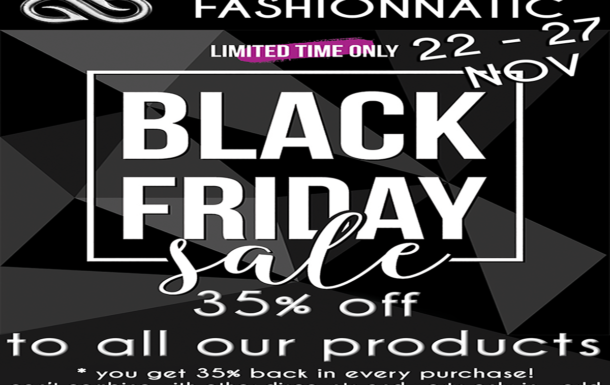 ***BLACK FRIDAY*** FASHIONNATIC