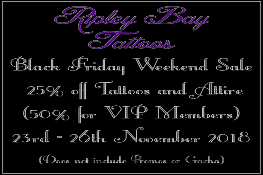 Ripley Bay  Black Friday Weekend