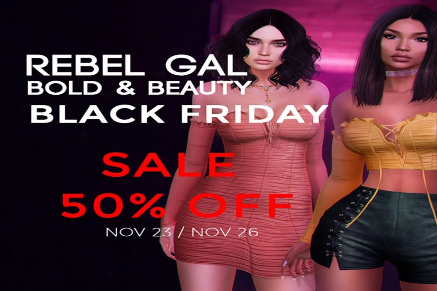 Rebel Gal and Bold & Beauty – Black