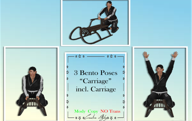Creative Stylez – Bento Poses – Carriage