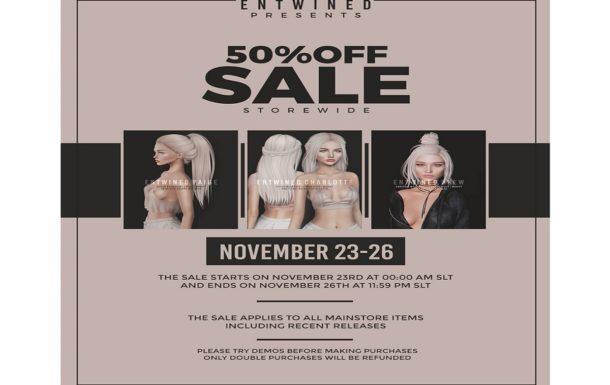 Entwined – Black Friday Weekend