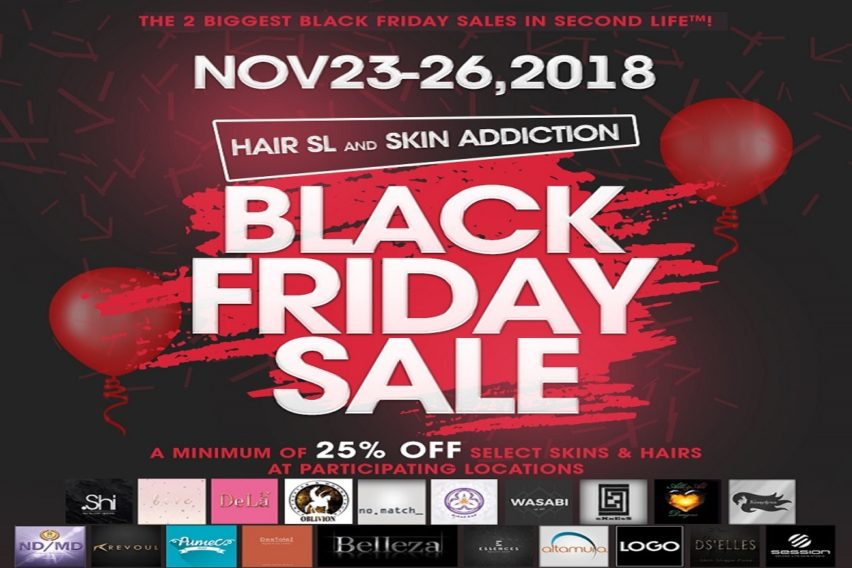 Hair SL & Skin Addiction – Black