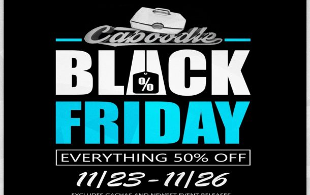 Caboodle  – Black Friday Weekend