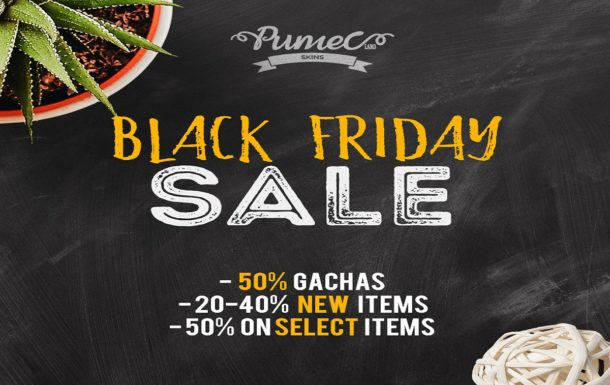 PUMEC – Black Friday Weekend Sale