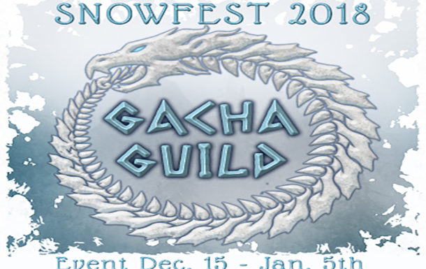 Bundle Up for the Gacha Guild Snow Fest!