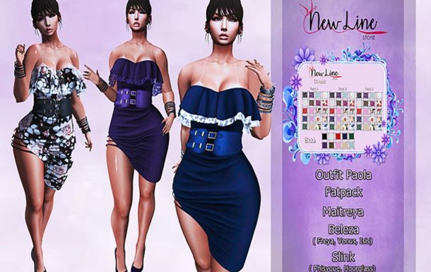 .:: New Line Store::Paola Outfit – Fatpack