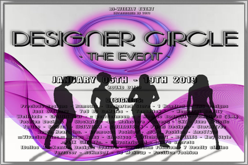 DESIGNER CIRCLE -THE EVENT- Round 01/2019