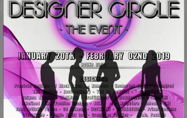 DESIGNER CIRCLE -THE EVENT – ROUND 02/2019