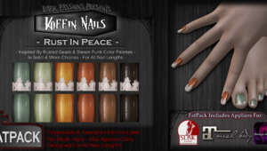 New Nail Appliers - Rust In Peace
