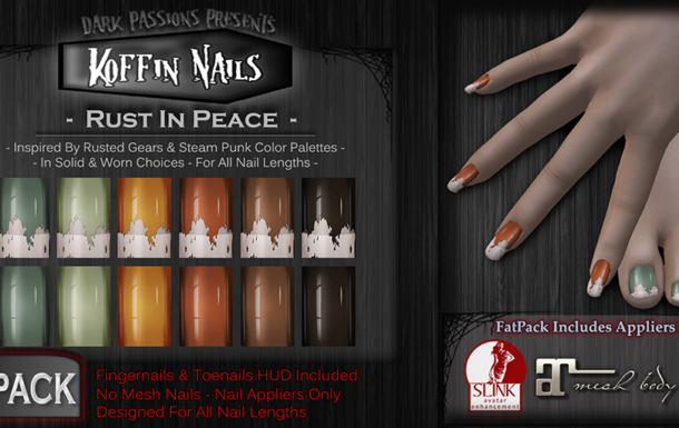 New Nail Appliers – Rust In Peace