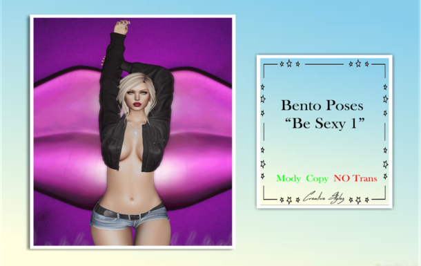 Creative Stylez – Bento Poses -Be Sexy 1