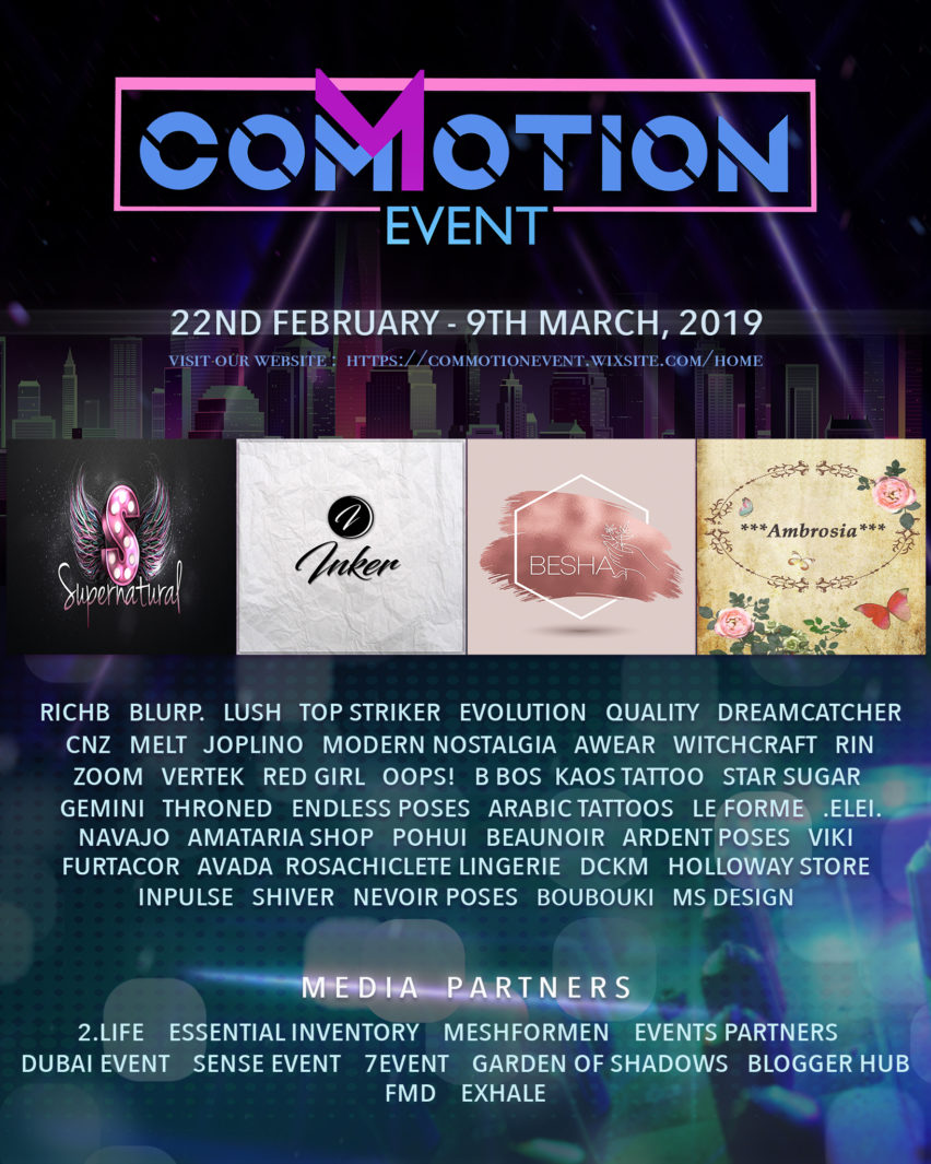 COMMOTION EVENT – February 2019