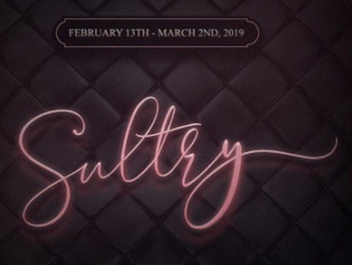 Sultry – February 2019