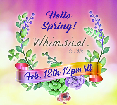 Whimsical Event – February 2019