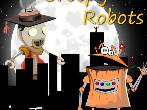 Creepy Robots in Town Event – March 2019