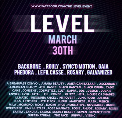 The Level Event – March 2019