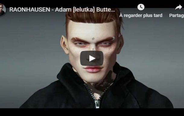 RAONHAUSEN – Adam [lelutka] Butter Cream  – Video