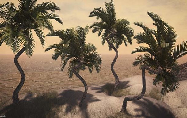 Little Branch Tropical Palm v2 – New