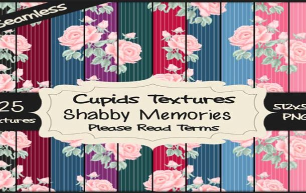 *Cupids Textures * 25 SHABBY MEMORIES – Deal