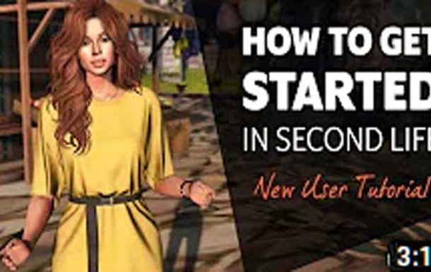 Second Life New User Tutorial – Video