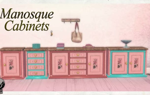Manosque Cabinets – New