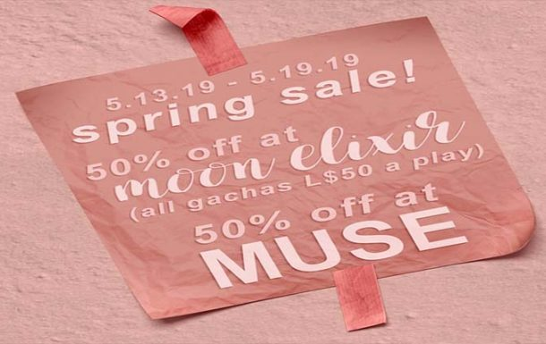 Moon Elixir x MUSE 50% off Spring Sale – Deal