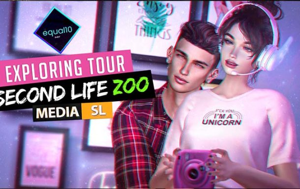 EXPLORING Second Life – Our ZOO trip – Video