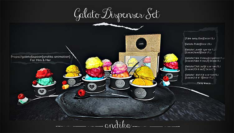 andika GG [Galeto Dispenser Set] Gifts