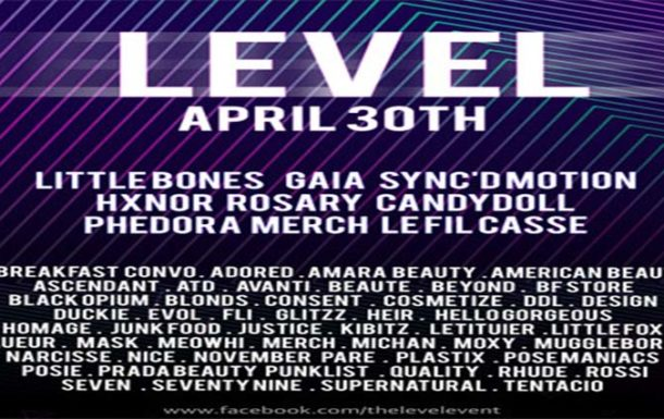 The Level Event – April 2019