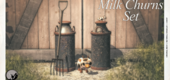 Milk Churns Set – New