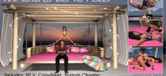 Master's BDSM Beach Bed – New Release for XXX Event – NEW