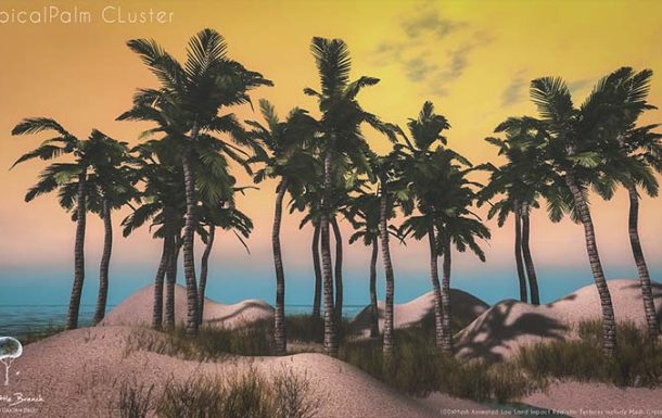 Little Branch Tropical Palm Cluster  – Deal