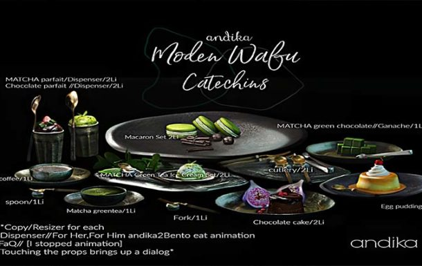 andika [Moden Wafu Cateching FullSet] – NEW