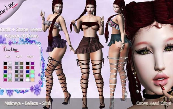 :: New Line Store::.Outfit + Shape Helena – Fatpack Gifts