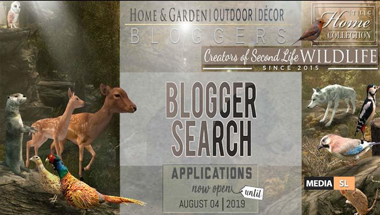 │T│L│C│Blogger Search – Applications open  – Blog
