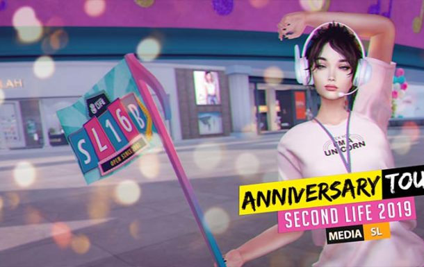 SECOND LIFE 16 Birthday Tour – Video