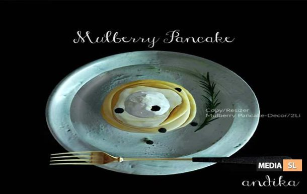 andika GG Mulberry Pancake Decor – Gifts