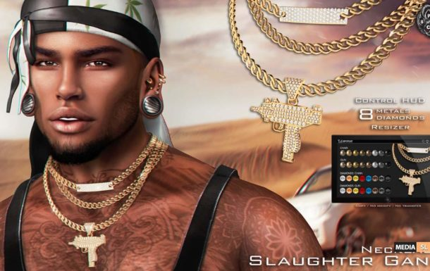 Necklace – Slaughter Gang – NEW