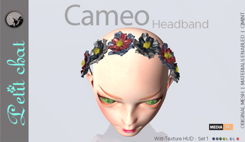 Cameo Headband (Set 1) – Gift