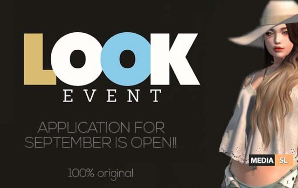 LOOK Event – APPLICATION FOR SEPTEMBER IS OPEN