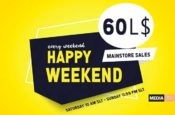 happy weekend September 14 - SALE