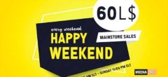happy weekend  – SALE