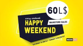 happy weekend October 12 – SALE