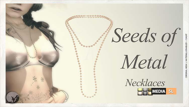 Seeds of Metal Necklace – Gift