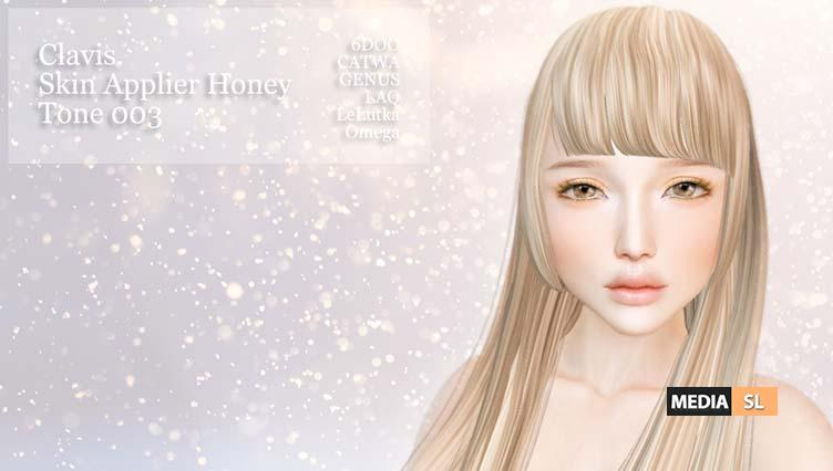 Clavis. Head Skin Applier Honey Tone 003 – Gift