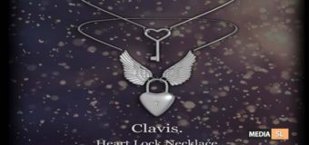 Clavis. Heart Lock Necklace – Gift